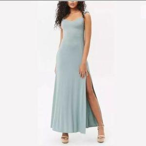 Sage SideSlit dress (M)